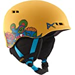 Anon Burner Boys Snowboarding Helmet Wild Thing Yellow Eu Size:SM