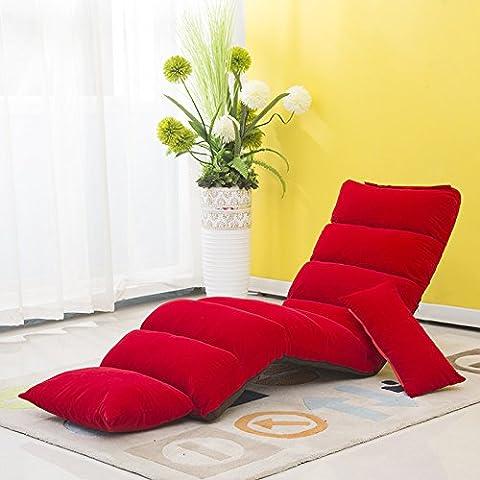 desy Lazy Sofá Cama multifuncional creativo extraíble (plegable tatami sofá Chaise Longue Sillas