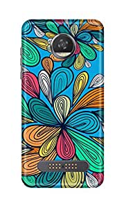 SWAG my CASE Printed Back Cover for Motorola Moto Z2 Play