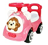 #5: Toyhouse Jagoo's Funky Push Car, Pink