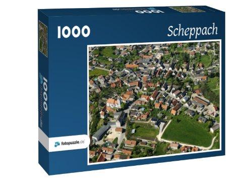 Preisvergleich Produktbild Scheppach - Puzzle 1000 Teile mit Bild von oben