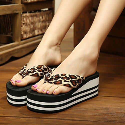 Donne sandali Tacchi alti donna donne fresche scarpe da spiaggia (36/37/38/39) Confortevole ( Colore : 1003 , dimensioni : 38 ) 1004