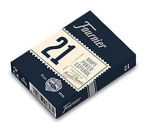 Fournier-Nº21 Poker Español Baraja Remigio, Rabino o Continental Color Azul/Rojo Nº21 (F21003)