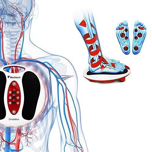 Lsnisni électromagnétique Massage des pieds, 25 modes de massage, 99 intensités réglables, 4 pour le corps, soins des pieds et relaxation du... 8
