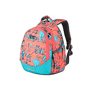 Wildcraft Polyester 14 Ltrs Pink School Backpack Wiki Zoo 3
