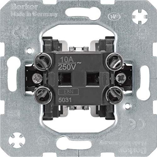Hager–Meccanismo pulsante Normal marcia 1T basculante 10A/250V