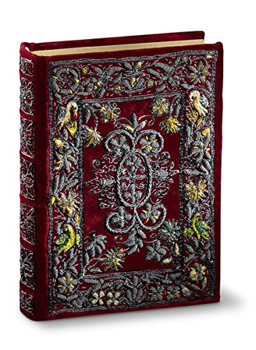enbuch der Maria Medici: Feinste Buchmalerei in einem Gewand aus Silber, Samt und Seide (Renaissance Gewand)