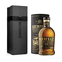 Aberfeldy 12 Year Old Single Malt Whisky 70cl in Elegant Gift Box by Aberfeldy