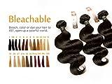 Virgin Hair Human Hair 3 Bundles Brésilien Extension Cheveux Body Wave Grade 7A Tissage Naturel Cheveux Humains Weave 100 gramme