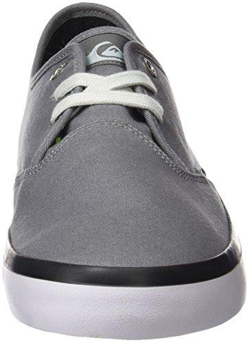 Quiksilver  Shorebreak, Sneakers Basses homme Gris (Grey/black/white)
