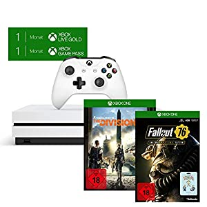 Xbox One S 1TB – The Division 2 Bundle + Fallout 76: Special Edition [Xbox One] (exkl. bei Amazon)