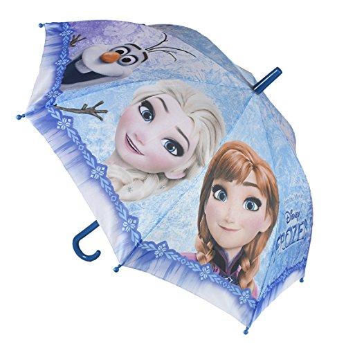 """Paraguas junior, diseño de """"Disney Frozen Olaf, Anna y Elsa"""", 45cm"""