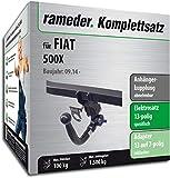 Rameder Komplettsatz, Anhängerkupplung abnehmbar + 13pol Elektrik für FIAT 500X (140776-13243-1)