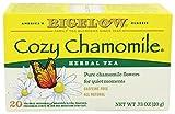 Bigelow Tea - tisana tutti caffeina naturale gratuita accogliente camomilla - 20 bustine di tè
