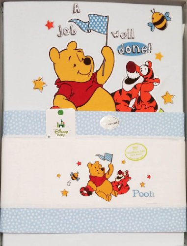 Lenzuola Per Culla E Carrozzina.Set Completo Winnie The Pooh Per Culle E Carrozzina Lenzuola E
