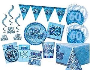 Unique Party Party Kit Color azul 63770