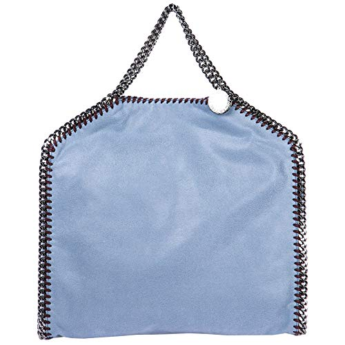 falabella stella mccartney Stella McCartney damen Falabella Fold Over Handtasche blu