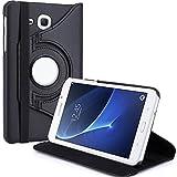 WiTa-Store Schutzhülle für Samsung Galaxy Tab A SM-T280 7.0 Zoll Smart Slim Case Book Cover Stand Flip SM-T285 (Schwarz) Neu