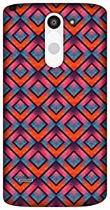 The Racoon Lean Crystallized Diamonds hard plastic printed back case / cover for LG G3 Stylus