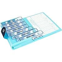 Medidos Pillen-Tablettenbox für 7 Tage | 7 einzelne Pillendosen für jeden Tag der Woche | Wochenset mit Schutzhülle... preisvergleich bei billige-tabletten.eu