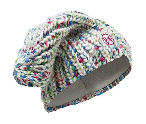 Buff® Set - Knitted & Polar Hat Bonnet de Hiver + UP® Tissu Tubulaire | Polartec® Fleece | Tricoté | Slouchy Fit | Vintage Aspect | Sports d'hiver | Bonnet de Ski | Snowboard Bonnet