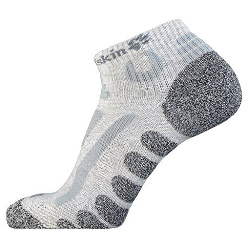 Jack Wolfskin Socken Hiking Pro Low Cut, Light Grey, 44-46, 1904091-6111446 (Low Socks Schuhe Cut)