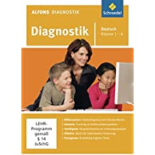 Alfons Diagnostikprogramme - Ausgabe 2011: Diagnostik Deutsch 1 - 4