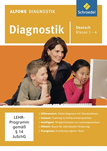 Preisvergleich Produktbild Alfons Diagnostikprogramme - Ausgabe 2011: Diagnostik Deutsch 1 - 4