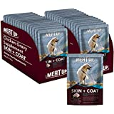 Meat Up Chicken Gravy Supplement, Skin+Coat- 80g, Pack of 15 ( Buy 1 Get 1 Free)