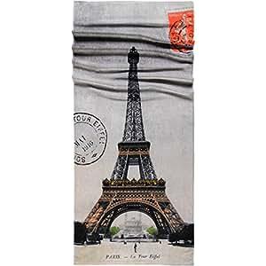 Möve Strandtuch Eiffelturm , 80 x 180 cm