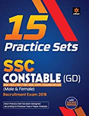 15 Practice Sets SSC Constable (GD) 2018