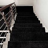 BBYE Adhesivo Libre Autoadhesivo Alfombra Antideslizante Para Escaleras Alfombra Extra Espesa Para Hogares De Madera Sólida ( Color : # 6 , Tamaño : 65*24cm-A )