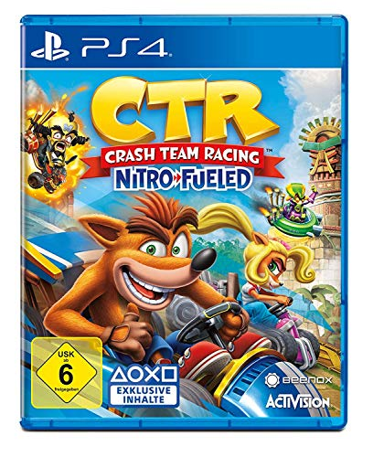 Crash Team Racing Nitro-Fueled - [PlayStation 4]