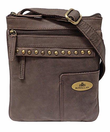 a774acbc0a7b Resultados de la búsqueda. rowallan. Rowallan Women s Brown Leather  Shoulder Bag ...