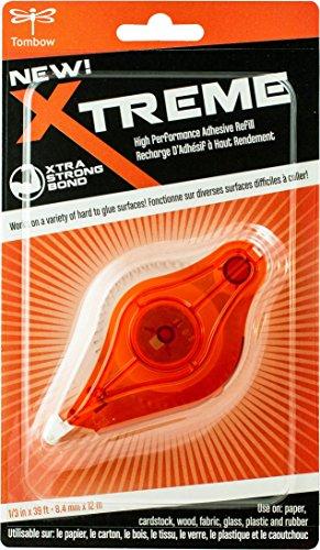 Tombow Xtreme Tape Runner Refill adesivo 0,3 x 472 cm - Adesivo Runner