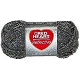 Coats Garn, Rot Herz Reflektierende yarn-grey, andere, mehrfarbig