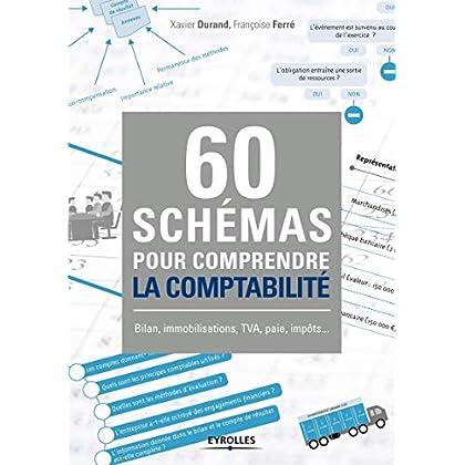 60 schémas pour comprendre la comptabilité: Bilan, immobilisations, TVA, paie, impôts ...
