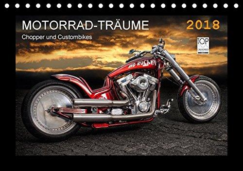 Motorrad-Träume - Chopper und Custombikes (Tischkalender 2018 DIN A5 quer): Harley-Davidson und außergewöhnliche Custombikes (Monatskalender, 14 ... [Kalender] [Apr 01, 2017] Pohl, Michael