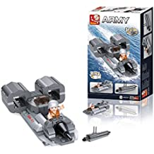 Building Blocks Aircraft Carrier Series Jet Boat 3-in-1