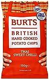 Burts Potato Chips Sweet Chilli 150 g (Pack of 10)