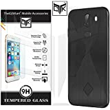 TheGiftKart 10 Or G/10.Or G/Tenor G Tempered Glass + Back Cover: HD Tempered Glass + Flexible Rugged Case (Black)