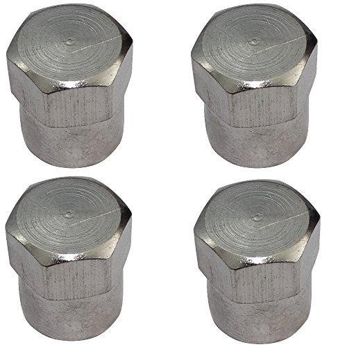 Bouchons de valve Vent-Cap tete de mort 4er-set Pneus Voiture Vanne