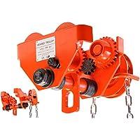 Pro-Lift-Montagetechnik 500kg Laufkatze, schwere Ausführung, mit Getriebe + Haspelkette, N, 01217