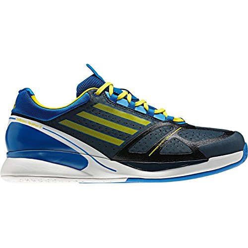 Chaussures ADIDAS Homme adizero Feather II Bleu / Jaune 2013 Bleu