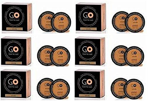 Millefiori Milano Recharge parfum santal Bergamote 6 boîtes de 2 Go pour parfum voiture à dosettes T-Discs