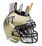 Schutt NCAA Pittsburgh Panthers Mini Casque pour bureau Caddy