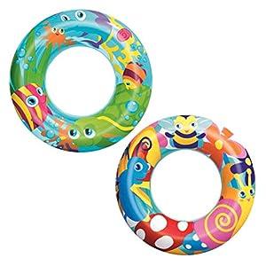 Bestway - Flotador de Verano 3-6 años (56 cm), Colores Surtidos