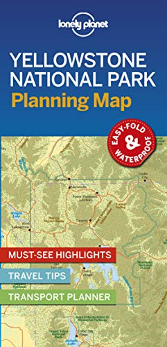 Yellowstone National Park Planning Map - 1ed - Anglais par  LONELY PLANET