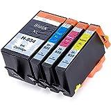 Perseus 934XL 935XL Kompatibel für HP 934 935 XL Hoher Reichweite Druckerpatronen Multipack Set(1 Schwarz,1 Cyan,1 Magenta,1 Gelb) mit Officejet Pro 6830 6835 6230 6812 6815
