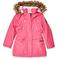 جاكيت ملابس خارجية للأطفال من الجنسين من US Polo Association (يتوفر المزيد من الأنماط)، لون وردي فاتح بابريكا، مقاس 2T